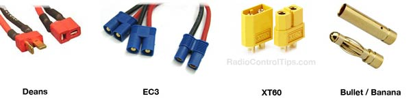 high current connectors rc